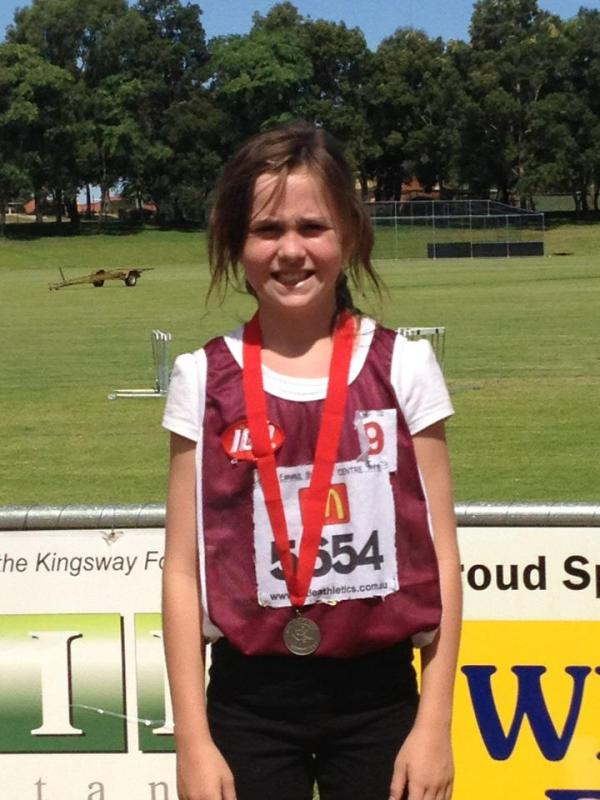 Medal presentation, 60m hurdles